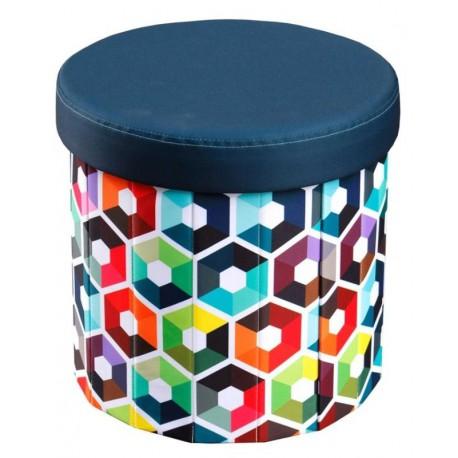Taburet multicolor DIZZY