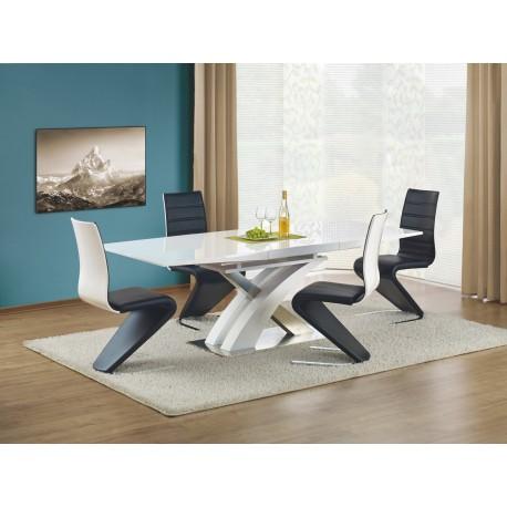 Set Masa din MDF Sandor Lac + 4 scaune K194