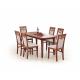 Masa dining extensibila FRYDERYK, cires, 160-240/90/74 cm