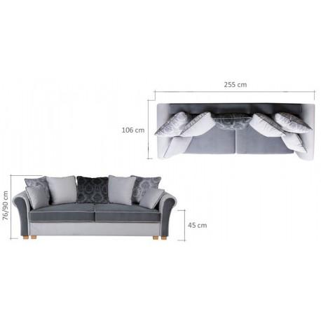 Canapea extensibila 4 locuri GUSTO