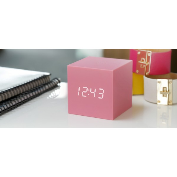 Ceas inteligent Gravity Cube Click Clock - Skyblue