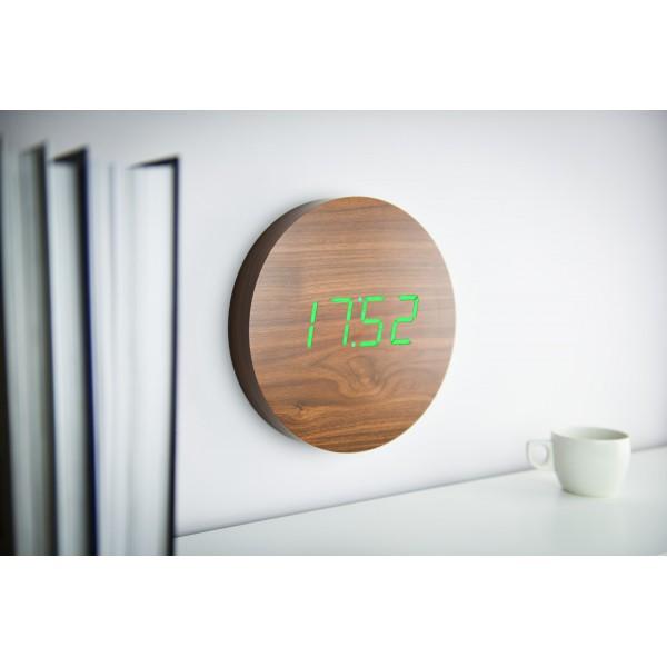 Ceas inteligent de perete WALNUT Click Clock