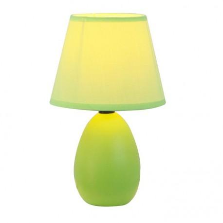 Lampa de masa ceramica, verde, QENNY