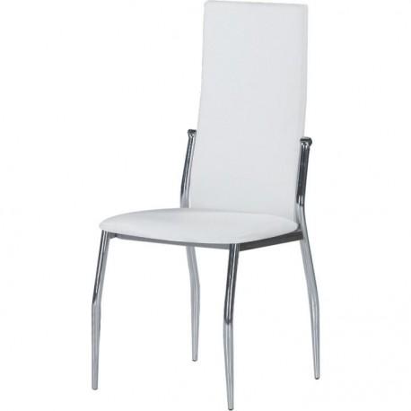 Scaun dining SOLANA alb
