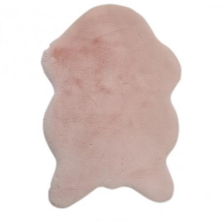 Covor din blana artificiala RABIT, roz