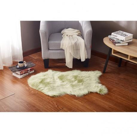 Covor din blana artificiala EBONY, verde