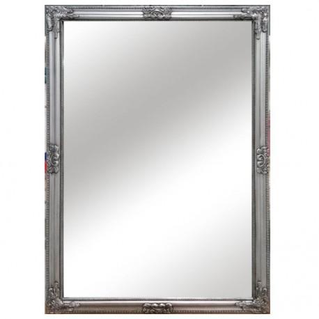 Oglindă, cadru argintiu din lemn, MALKIA