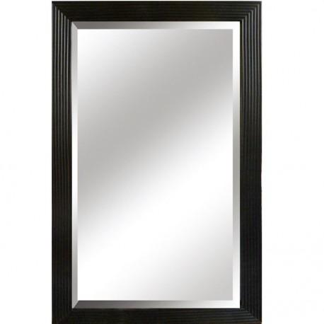 Oglinda, cadru negru, 50x80 cm, MALKIA