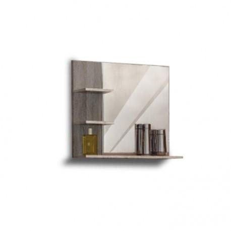 Oglindă, stejar sonoma truffel, 56x60 cm, OLIVIA