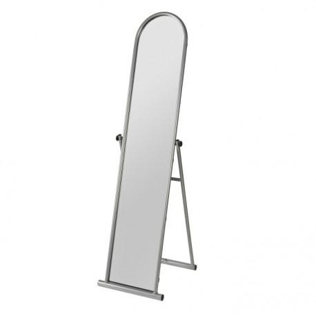 Oglindă, argintie, 48x154 cm, ANGELA
