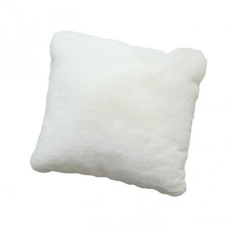 Pernă, albă, 45x45, RABITA