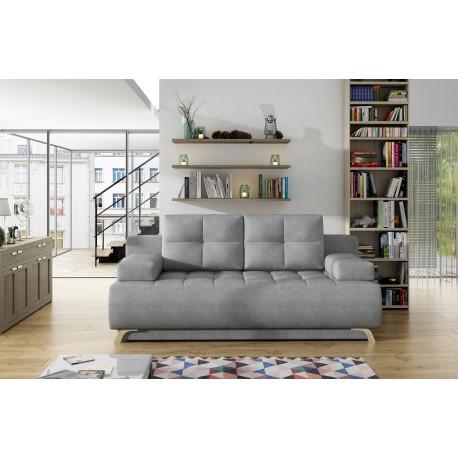 Canapea extensibila 4 locuri OSLO GRI Deschis