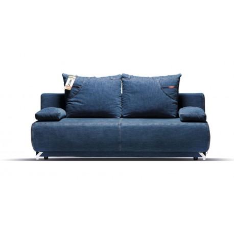 """Canapea extensibila cu lada de depozitare, """"DENIM"""" , L200xA96xH93 cm"""