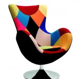 Fotoliu de relaxare BUTTERFLY Multicolor