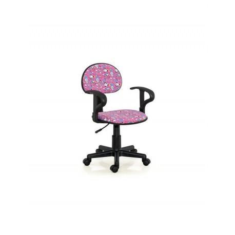 Scaun birou copii textil ALFRED