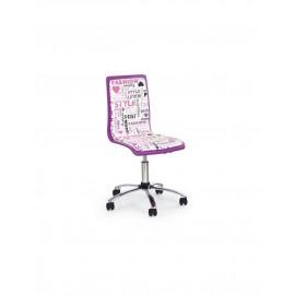 Scaun de birou copii piele eco FUN 7