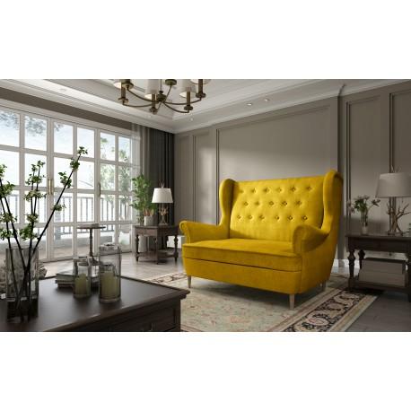 Canapea fixa AROS galben